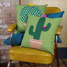 Almohadones de artesanías mexicanas