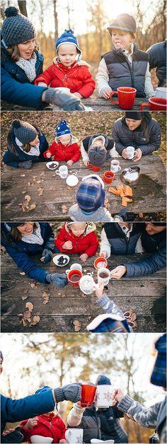 Kansas City Lifestyle Photographer. Hot Chocolate and Marshmallows Family Session. www.allisoncorrin.com