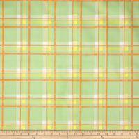 Oilcloth Scottish Plaid Green