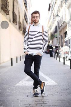 Street Trend- Stripes for Men