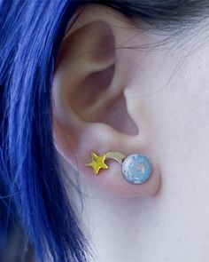 Space Earring Set – INU INU