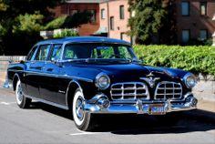 1956 Chrysler Imperial Limo jigsaw puzzle in Cars