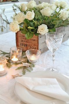 VIBEKE DESIGN - SUCH A GORGEOUS WAY TO DRESS ONES' TABLE!!