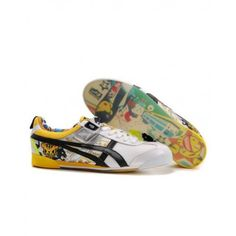 2012 Asics Onitsuka Tiger by ASICS MEXICO TOKIDOKI LO White Yellow Black