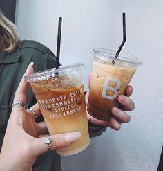 Image about nails in Coffee ^-^ by Coffee Date, Iced Coffee, Coffee Drinks, Coffee Cups, Skinny Coffee, Coffee Is Life, I Love Coffee, Coffee Break, Milkshake