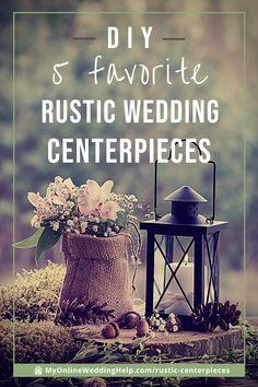 How to Sort of DIY Five Favorite Rustic Wedding Centerpieces Wedding Crafts, Diy Wedding, Fall Wedding, Wedding Stuff, Dream Wedding, Barn Wedding Centerpieces, Centerpiece Ideas, Barn Wedding Dress, Different Wedding Ideas