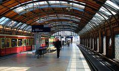 Berlin Hackescher Markt Bahnhof S-Bahn by Wolfsraum, via Flickr