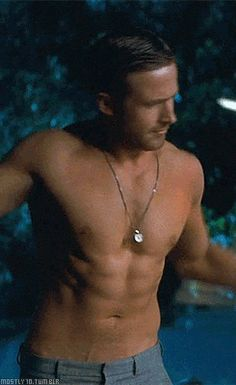Pin for Later: Ryan Gosling's Sex Appeal Explained in 130+ GIFs The OK Fine, I'll Take It Off