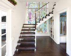 I love the stairs being open like this. Gives a much bigger and lighter feel to the space