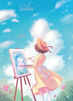 The Wind Rises Pin by Studio Ghibli on Fan-art Manga Anime, Film Manga, Film Anime, Anime Art, Hayao Miyazaki, Noragami, Film Animation Japonais, Le Vent Se Leve, Wind Rises