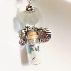 Beach in a Bottle Florida Sand Sea Shells and by GulfCoastTreasure