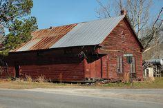 Shawnee GA Effingham County Graham Commissary Americana Ghost Town Picture Image Photograph © Brian Brown Vanishing South Georgia USA 2013