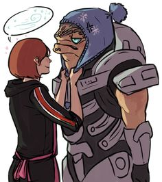Mass Effect. Gotta keep your tank baby from catching a cold!