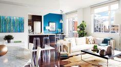 Inspiration déco: Bleu et turquoise (Touche de couleur)