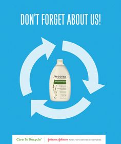 Pin this post so you never forget that shampoo, lotion, and mouthwash bottles (plus many other personal care products in the bathroom) can all be recycled. Check out our page for more tips on recycling! #CARETORECYCLE