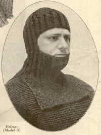 WWI balaclava http://judyweightman.wordpress.com/2012/09/14/over-here-knitting-on-the-homefront-in-world-war-i/
