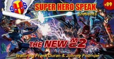 Is Marvel trying to copy the success of DC's New 52 with their Secret Wars event this summer? Is Marvel trying to align the comic books with the movie universe? Is Marvel just really out of ideas so they are just rehashing some of their biggest events? Well this week Dave, Ben and John joined by 2 very special co-hosts, Frank Duran and Johnny Fournier, explore these very questions. We may not find the answers, but the journey is always fun! http://superherospeak.com/wp/89-the-new-mc2/