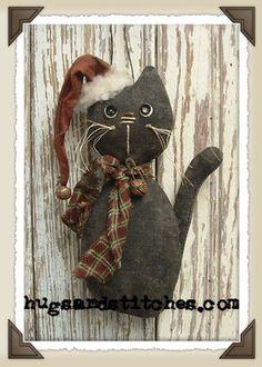Prim kitty ornament...
