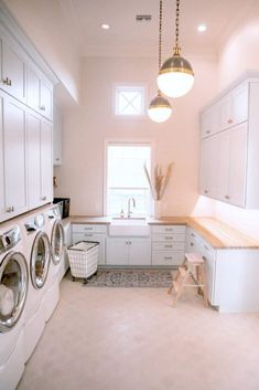 Project Reveal: Amber Fillerup Clark's New Home – Laundry Laundry Room Layouts, Laundry Room Storage, Laundry Room Design, Storage Spaces, Laundry Rooms, Storage Shelves, Laundry Room Utility Sink, Small Laundry, Storage Ideas