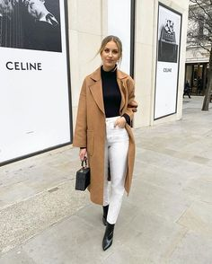 Winter outfit Happy Monday from me and my camel coat 🐪 Shop my look on the app 🔎 you can find similar pins below. We have brought the b. Winter Fashion Outfits, Fall Winter Outfits, Autumn Fashion, Casual Outfits, Cute Outfits, Classy Outfits, Women's Fashion, Latest Fashion, Fashion Coat