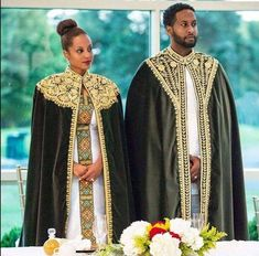 African fashion is available in a wide range of style and design. Whether it is men African fashion or women African fashion, you will notice. Ethiopian Traditional Dress, African Traditional Wedding, Traditional Wedding Dresses, Traditional African Clothing, African Bridal Dress, African Wedding Attire, Bridal Dresses, African Wedding Theme, Male African Attire