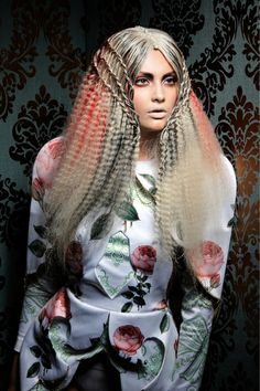 We're still seeing a spike in interest for crimping accents from the AW13 shows. Will crimped hair be everywhere by 2014? #crimpedhair