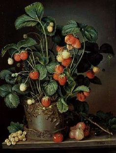 """""""Still life with strawberries"""" - W. Weiss"""