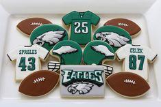 philadelphia eagles football cookies