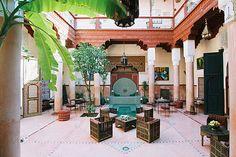 Patio. Riad Chorfa, Marrakech.
