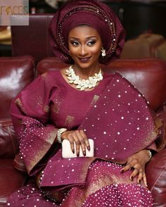Aso oke style inspiration for modern and young Yoruba brides. Shop for beaded Nigerian statement jewellery. Handmade Nigerian beads for sale.