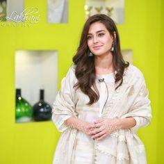 Pretty Iqra Aziz in today's morning show ❤✨ . Pakistani Dramas, Pakistani Actress, Bollywood Actress, Casual Suit, Casual Looks, Pakistani Party Wear Dresses, Fancy Dress Design, Iqra Aziz, Ayeza Khan
