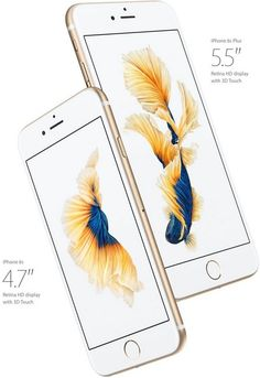 iPhone 6S and 6S Plus in Gold at PhonesLTD.co.uk