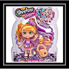 Shopkins new shoppie doll Pam Cake Shoppies Dolls, Shopkins And Shoppies, Little Pet Shop, Little Pets, Shopkins World, Shopkins Happy Places, Best Electric Scooter, Fidget Toys, Craft Activities For Kids