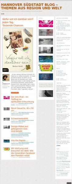 Hannover Südstadt Blog behandelt Themen aus Hannover-Südstadt und andere