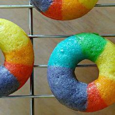Rainbow Donuts!!!!!!