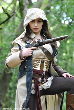 Assassins Creed - female version hooded version by carolinesphotos