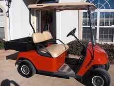 My little red golf cart