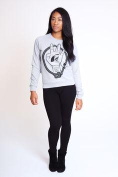 Sharkfacegang Crewneck Sweatshirt