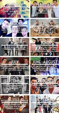 2013 has been a good year for the Rushers ;) Plus, I saw them on their Summer Break Tour, and I turned 16 that year, so I was 15 when I saw them in ATL :)