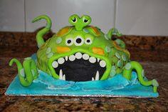 @Ily Logeais : Monster Cake #cakedesign