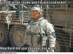 Here are 10 of the funniest and most relatable military photos, including funny captioned pictures, military jokes, and all manner of military humor. Military Quotes, Military Humor, Military Pictures, Military Police, Military Personnel, Support Our Troops, Army Life, American Pride, American Spirit