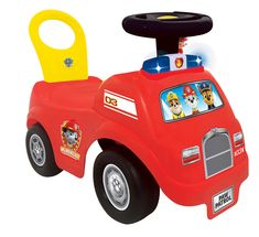Odrážadlo Hasiči Fore Truck #Paw #Patrol #Kiddieland so zvukom a svetlom od 12 mes Paw Patrol, Toys, Disney, Continents, Activity Toys, Toy, Disney Art