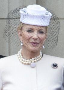 Princess Michael of Kent, June 16 , 2012 Sophie Winkleman, Royal Queen, White Queen, Prince Michael Of Kent, British Royal Families, My Fair Lady, Fancy Hats, June 16, Love Hat