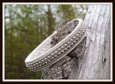 Lapland Sami Bracelet Reindeer leather Custom made by liten82, $70.00