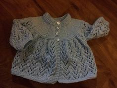 Ravelry: Project Gallery for Matinee Jacket pattern by Emu Wools Ltd