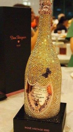 The bottle is so beautiful I wouldn't want to even open it.