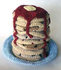 my girls will love these crocheted pancakes! :)