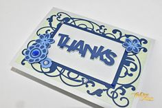 Pearlised thank you greeting card, intricate die-cut greeting card, personalised greeting card Thank You Greetings, Your Message, Greeting Cards, Thankful, Messages, Etsy, Text Posts, Text Conversations