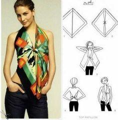 forma de crear camisa con pañuelo 2