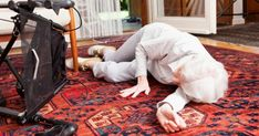 An expert shows 10 useful ways for seniors to safely get up from a fall or call for help when injured. Techniques for all ability and strength levels.
